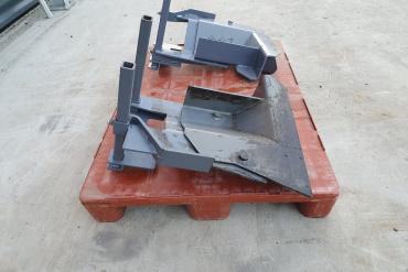 S800 Cut of Shoe Vögele asfalteermachine