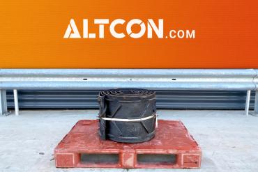 Discharge conveyor belt